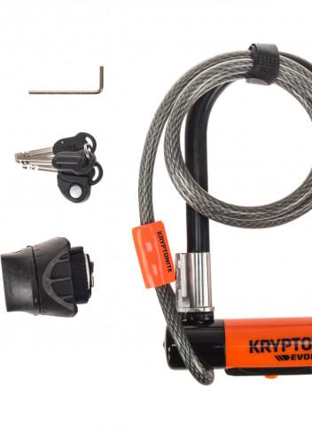 Antivol U combiné Evolution Mini 7 avec câble flex - Kryptonite