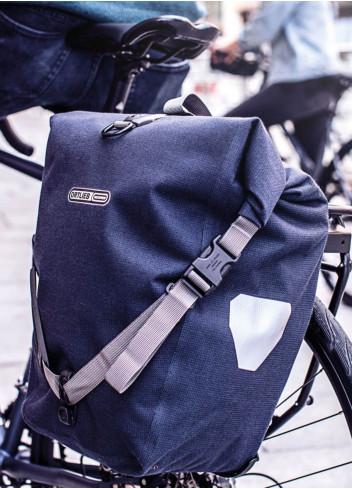 Sacoche vélo étanche porte-bagages BackRoller Urban - Ortlieb