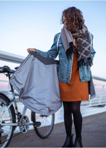 Jupe polaire et imperméable vélo - V2 - Cityrideuz