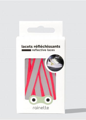 Lacets réfléchissants - Rainette