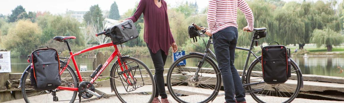 Sacoches guidon & selle vélo : découvrez notre sélection!