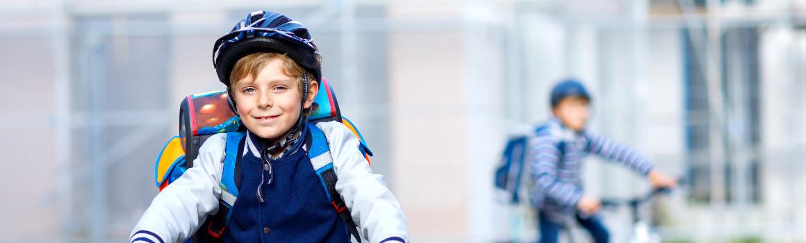 Casque vélo enfant | JE SUIS À VÉLO