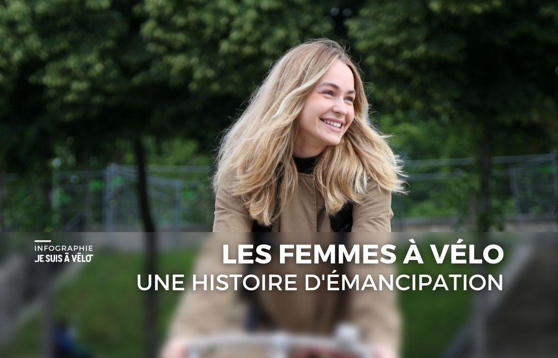 Les femmes à vélo, une histoire d'émancipation
