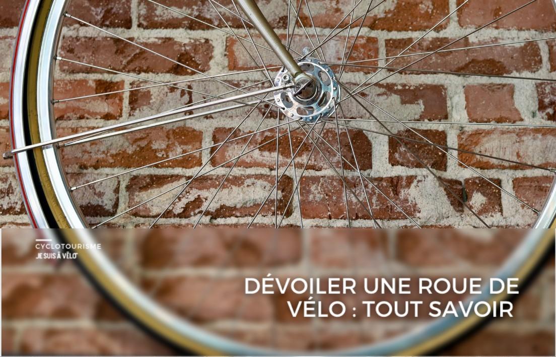 Comment dévoiler une roue de vélo ?